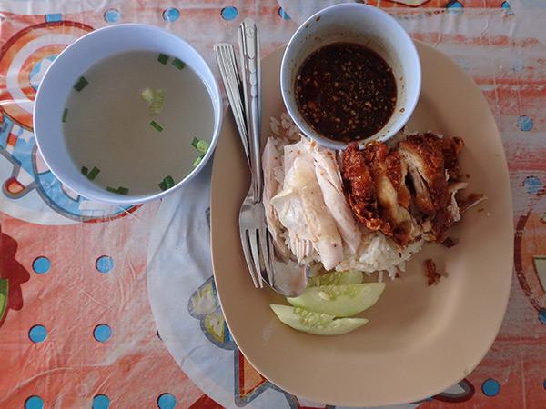 毎日食べている激ウマのカオマンガイ