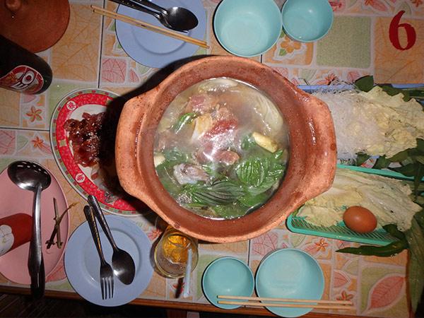 タイの鍋料理タイスキ