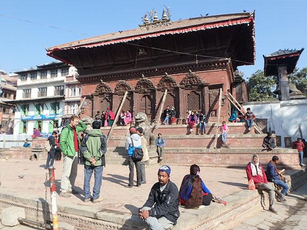 カトマンドゥ、シヴァ・パールヴァティー寺院