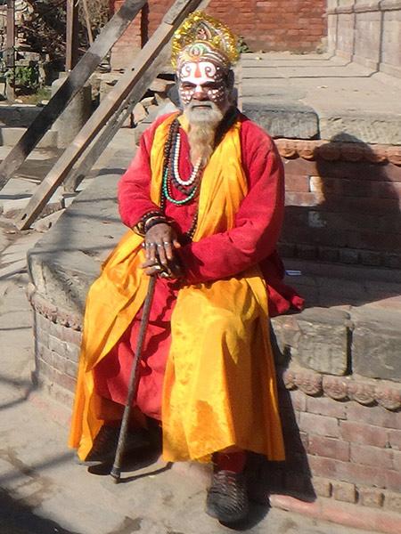 ヒンドゥー教の修行者、サドゥー