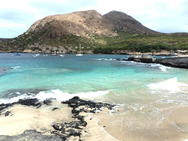 美しいタラファルのビーチ。もっとお天気良ければな〜