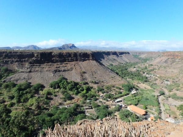 レアル・デ・サン・フィリペ要塞からの眺望