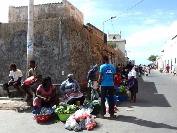 ミンデロの街角の風景