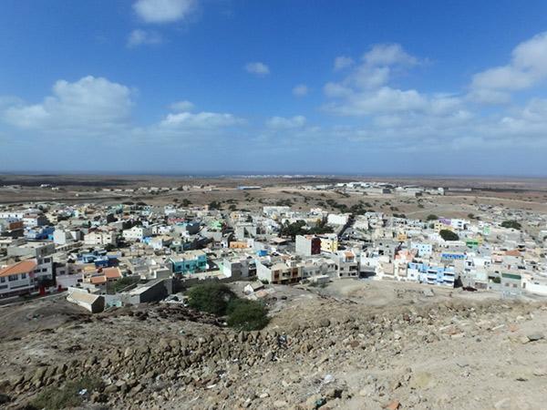 エスパルゴス Espargosにある展望台からの眺め
