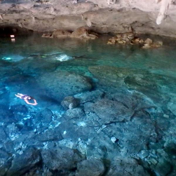 セノーテ・ドス・オホス Cenote Dos Ojos、第2の目 2nd Eye