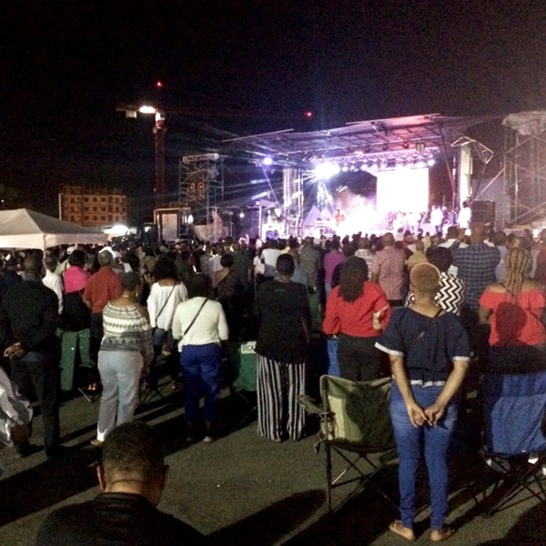 1月5日にMAS CAMPで行われたレゲエのライブ