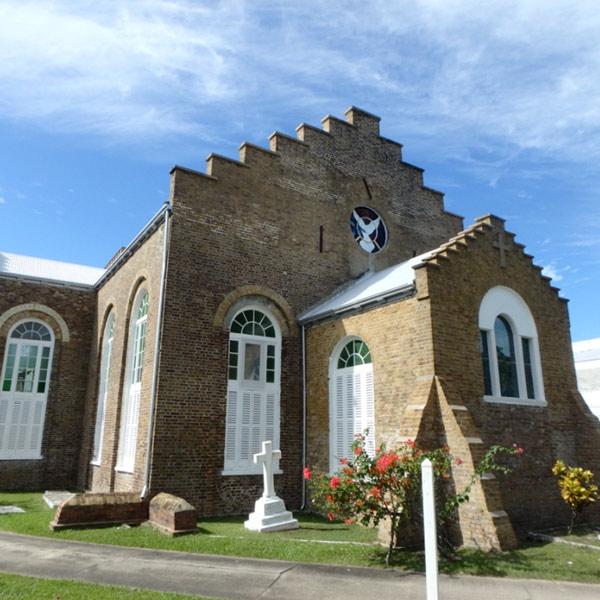イギリス建築のセント・ジョンズ・カテドラル St.John's Cathedral