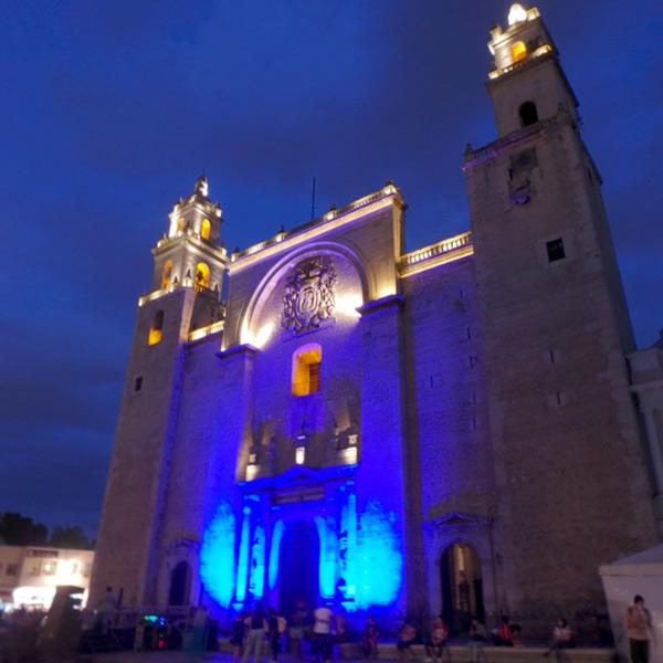 ユカタン半島最大の規模を誇るメリダのカテドラル Catedral