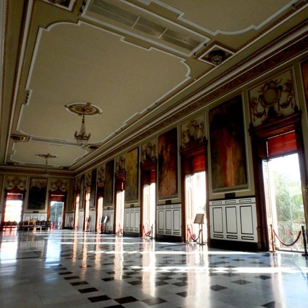 州庁舎の壁画ギャラリー Palacio de Gobierno