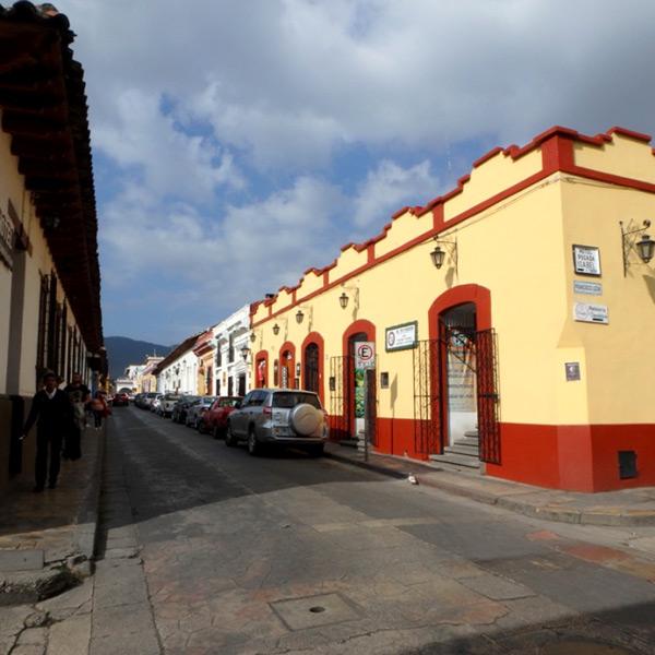 サンクリストバル・デ・ラスカサスの町並み