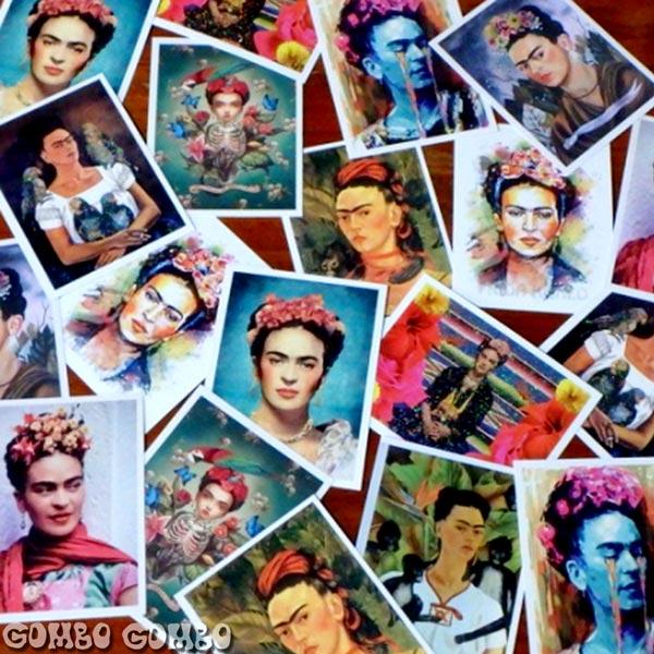 メキシコの女性画家フリーダ・カーロ Frida Kahloのポストカード